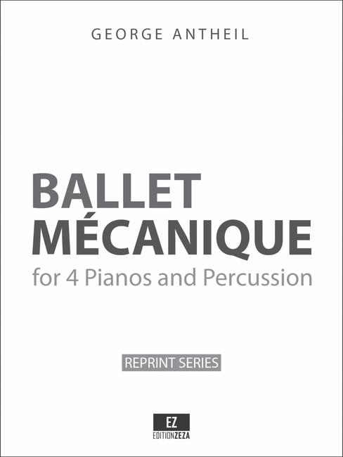 Antheil Ballet Mechanique - Full Score