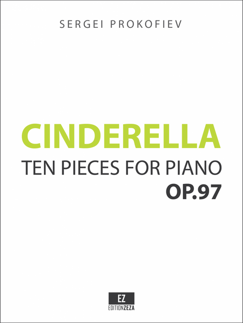 Cinderella - Ten Pieces for Piano Op.97