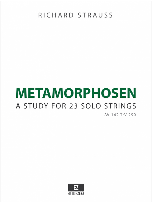 Strauss Metamorphosen for 23 Strings - Score and Parts