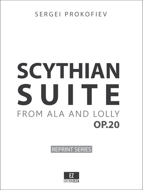 Prokofiev - Scythian Suite Op.20 Score & Parts
