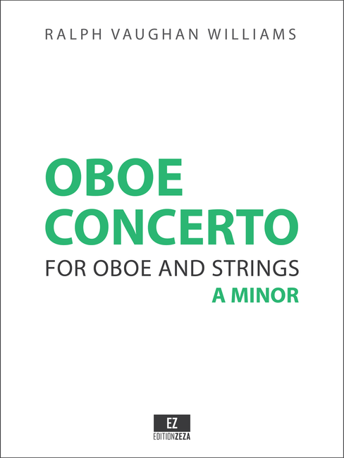 Vaughan Williams: Oboe Concerto, Score & Parts