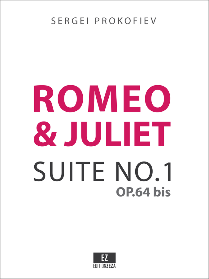 Prokofiev: Romeo and Juliet Suite No.1 Op.64 bis, Score and Orchestral Parts.