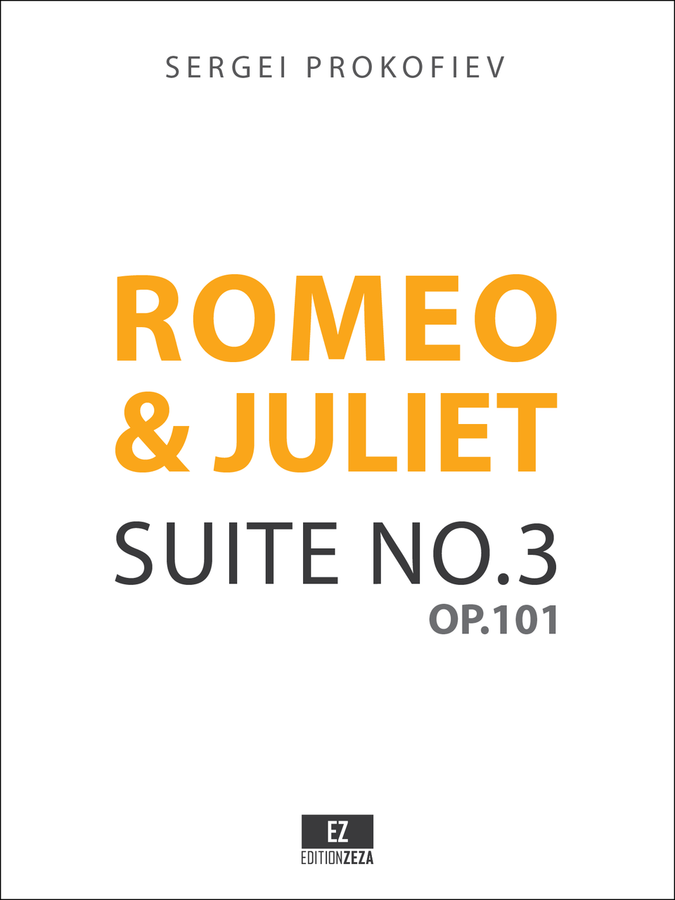 Prokofiev: Romeo and Juliet Suite No.3 Op.101 Score and Set of Parts