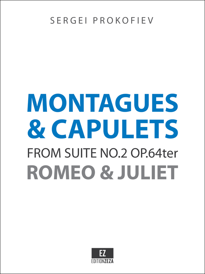 Prokofiev Montagues and Capulets from Romeo and Juliet , Score and Parts