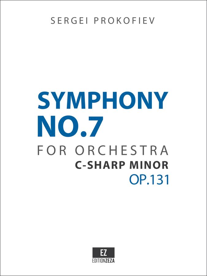 Prokofiev Symphony No.7 Score and Set of Parts