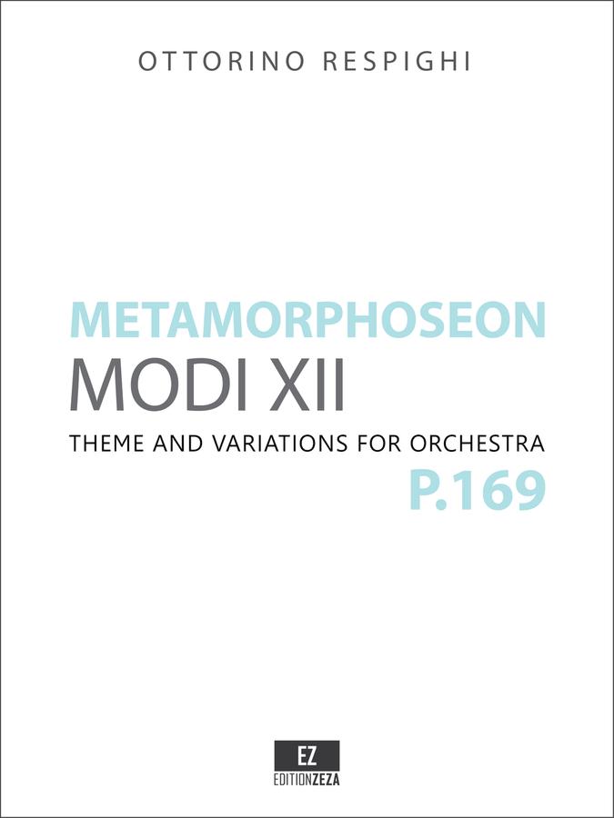 Respighi Metamorphoseon sheet music