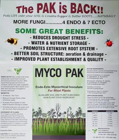 MYCO PAKS Endo-Ecto Mycorrhizal Inoculum