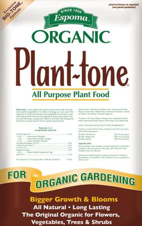 Plant-tone Organic All Purpose Plant Food