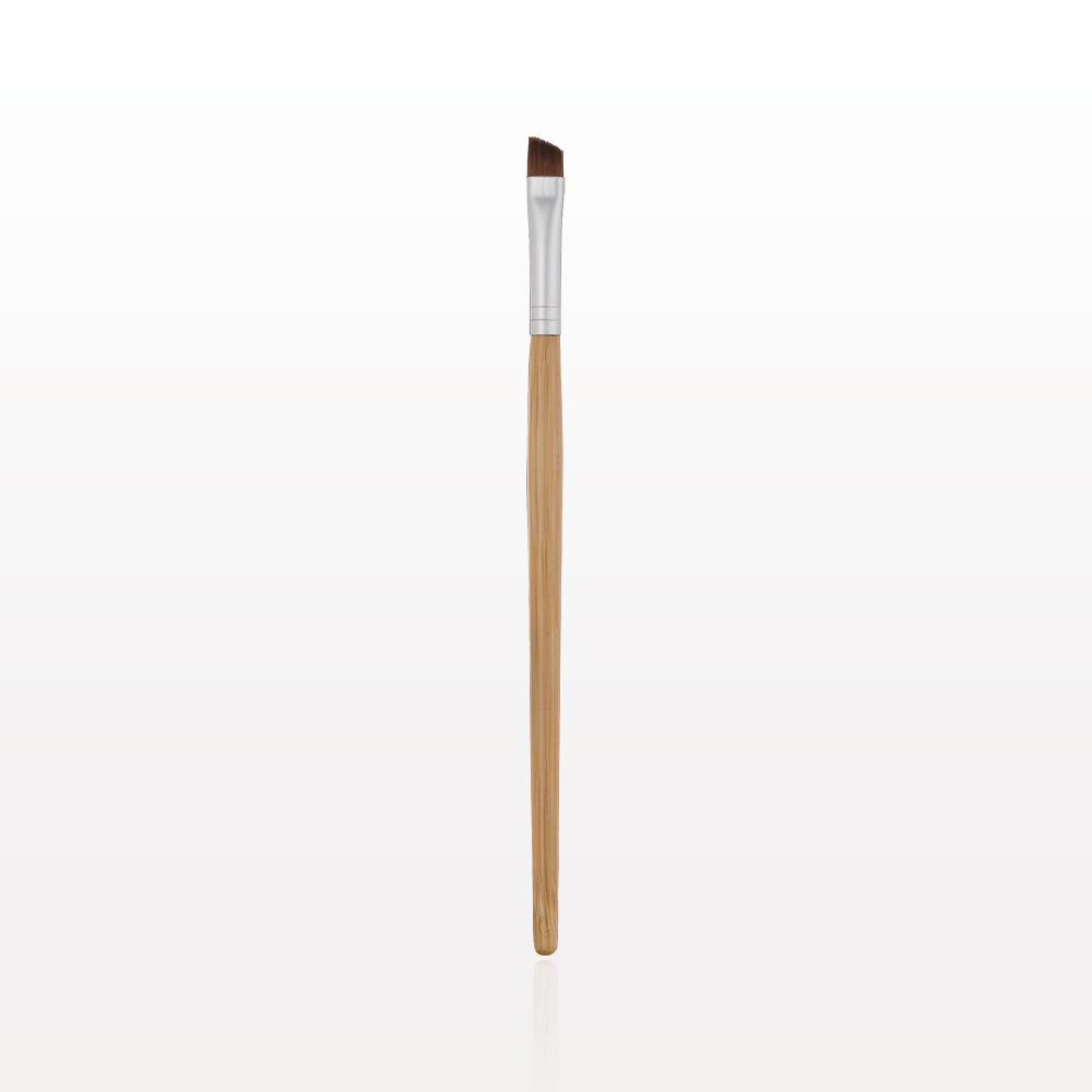 Vegan Bamboo Angled Eyeliner / Brow Brush