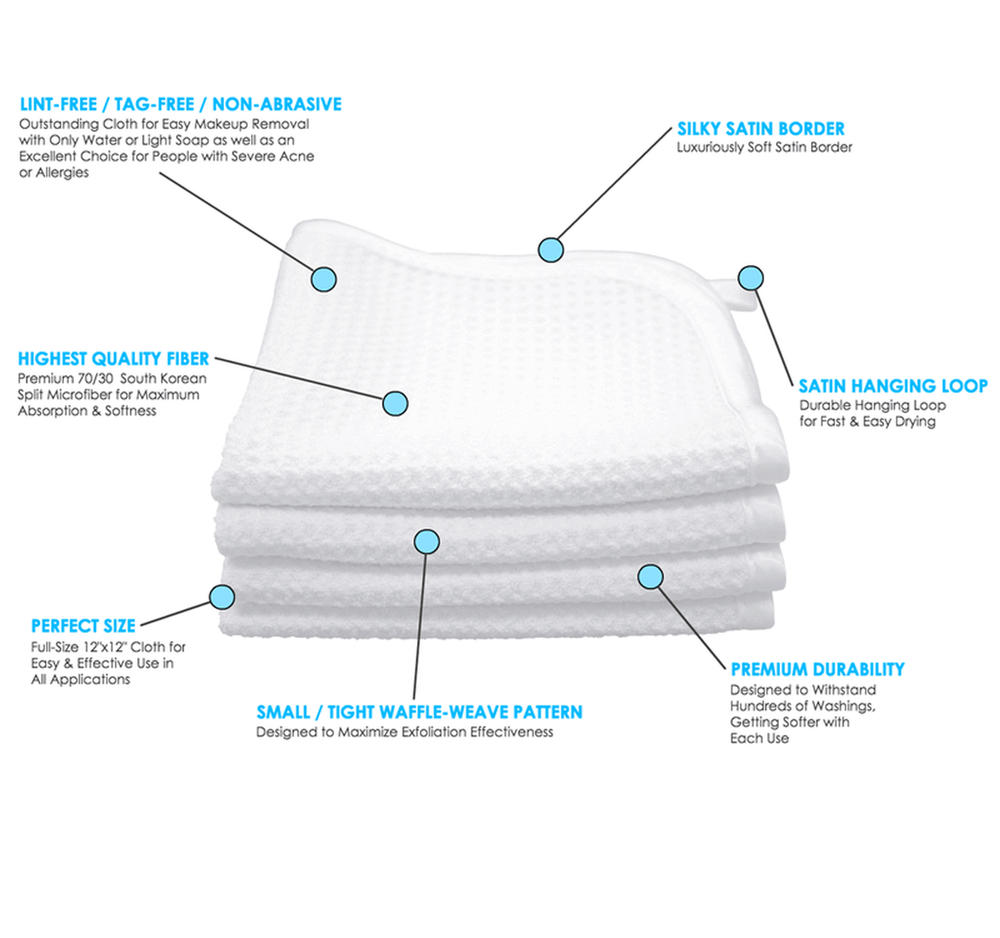 Miracle Peel Microdermabrasion Cloth