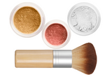 Sheer Miracle Mineral Makeup Starter Kit | Mineral Foundation, Finishing Powder and Blush plus Eco-Friendly Vegan Bamboo-ki Brush