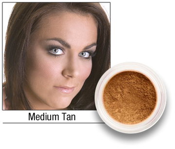 Medium Tan Mineral Foundation