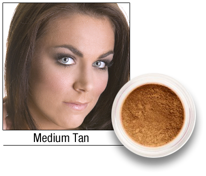 Medium Tan SPF Mineral Foundation