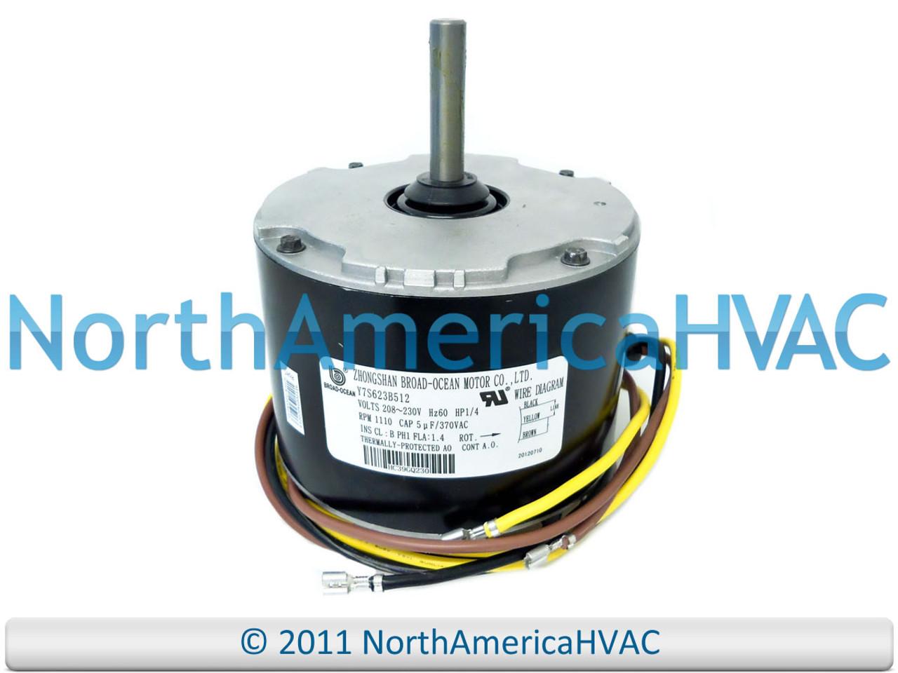 2 phase wiring condenser zhongshan broad ocean condenser fan motor 1 4 hp 208 230v  condenser fan motor 1 4 hp 208 230v
