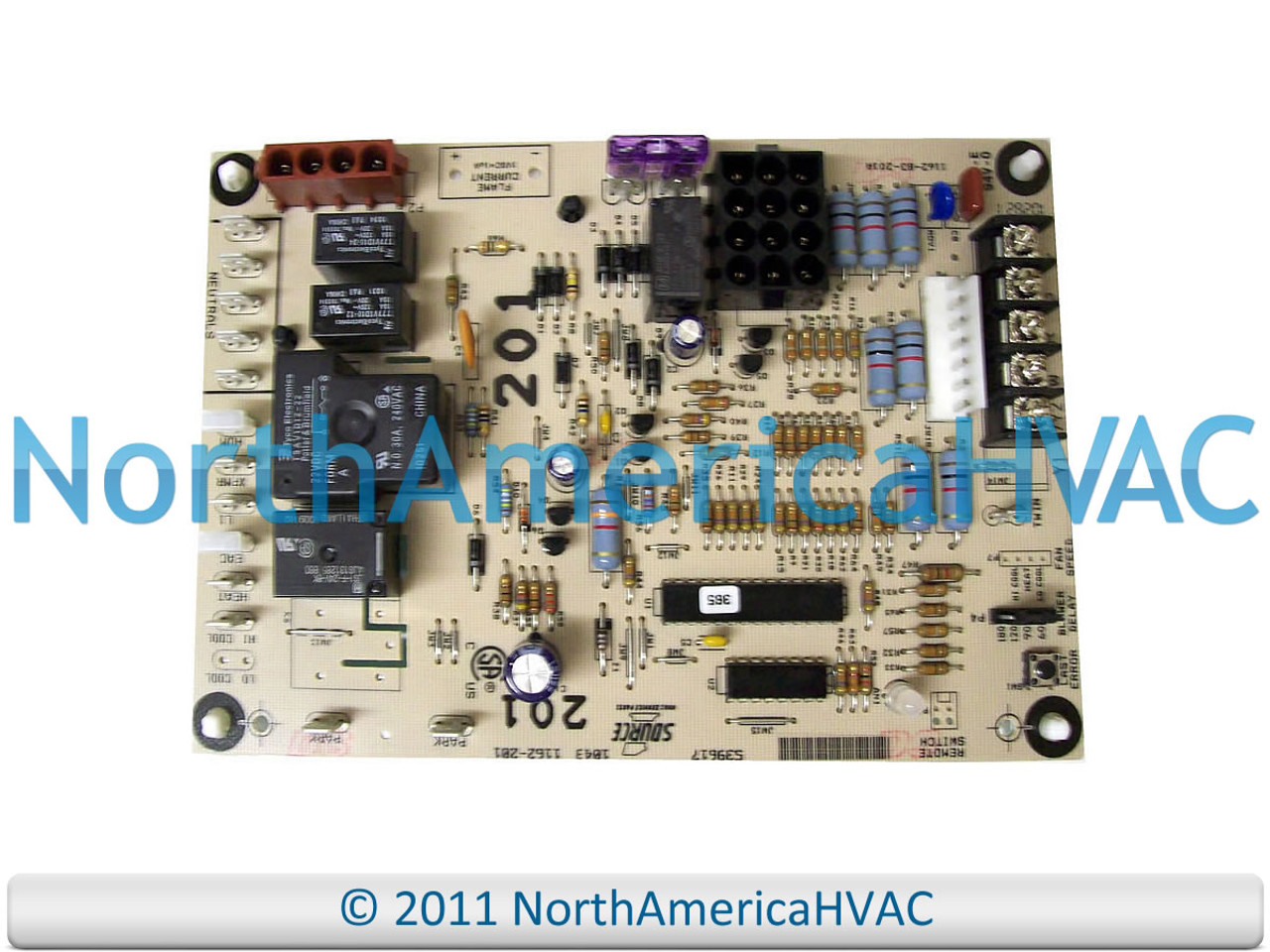 York Luxaire Coleman Furnace Control Circuit Board 031-09118-000 031-09169-000