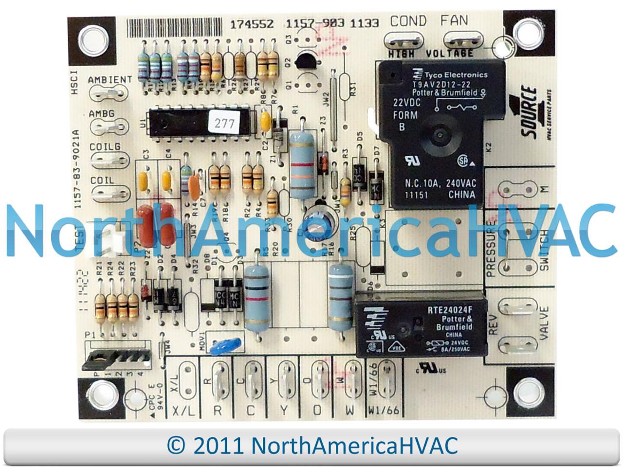 67297 Source 1 OEM Heat Pump Defrost Control Circuit Board