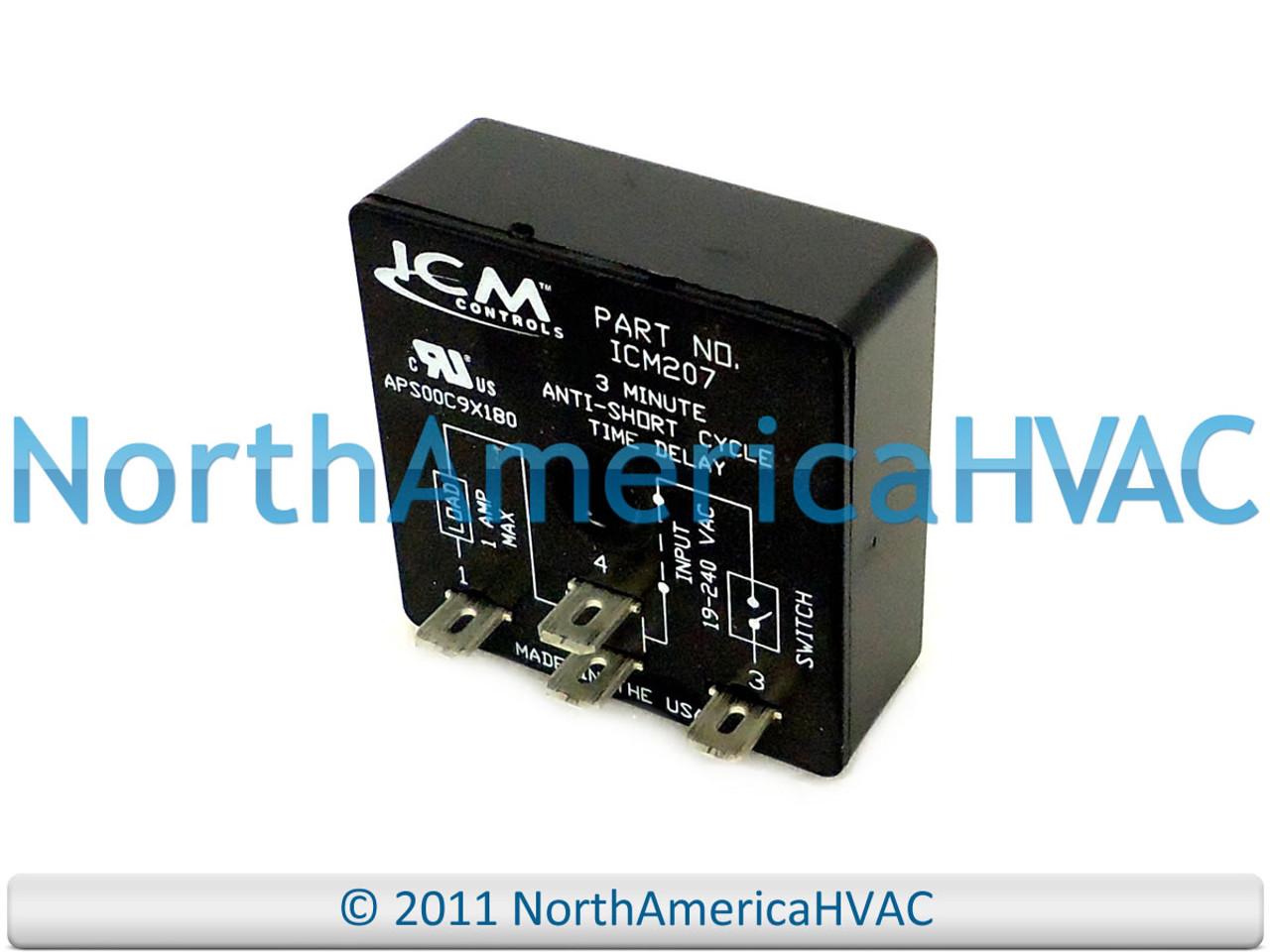 USA Universal Delay On Break Timer Relay ICM207 ICM207B