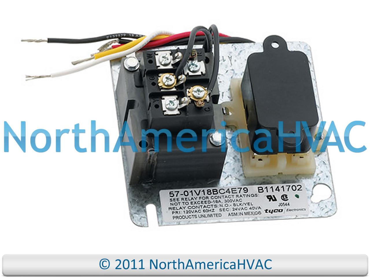 furnace fan relay wiring tyco janitrol goodman amana furnace fan center relay 120 24 volt  tyco janitrol goodman amana furnace fan