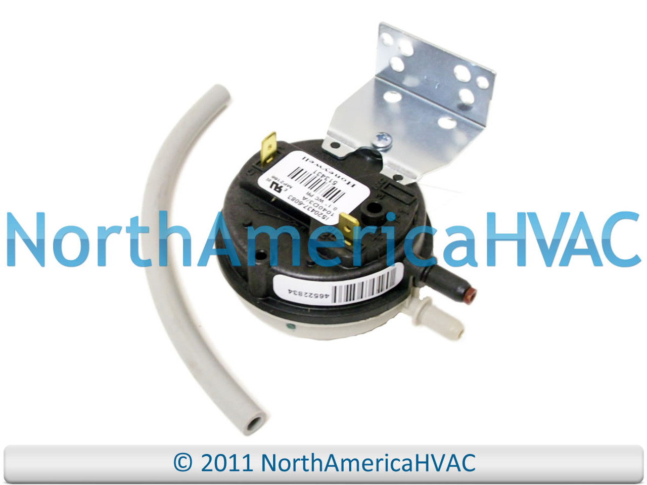 York Coleman Furnace  Air Pressure Switch FS6072A-2068 024-26038-000 .40