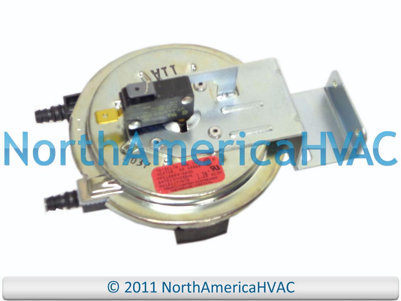 OEM Tempstar Heil ICP Furnace Venter Air Pressure Switch HQ1010895TR 1.38/""