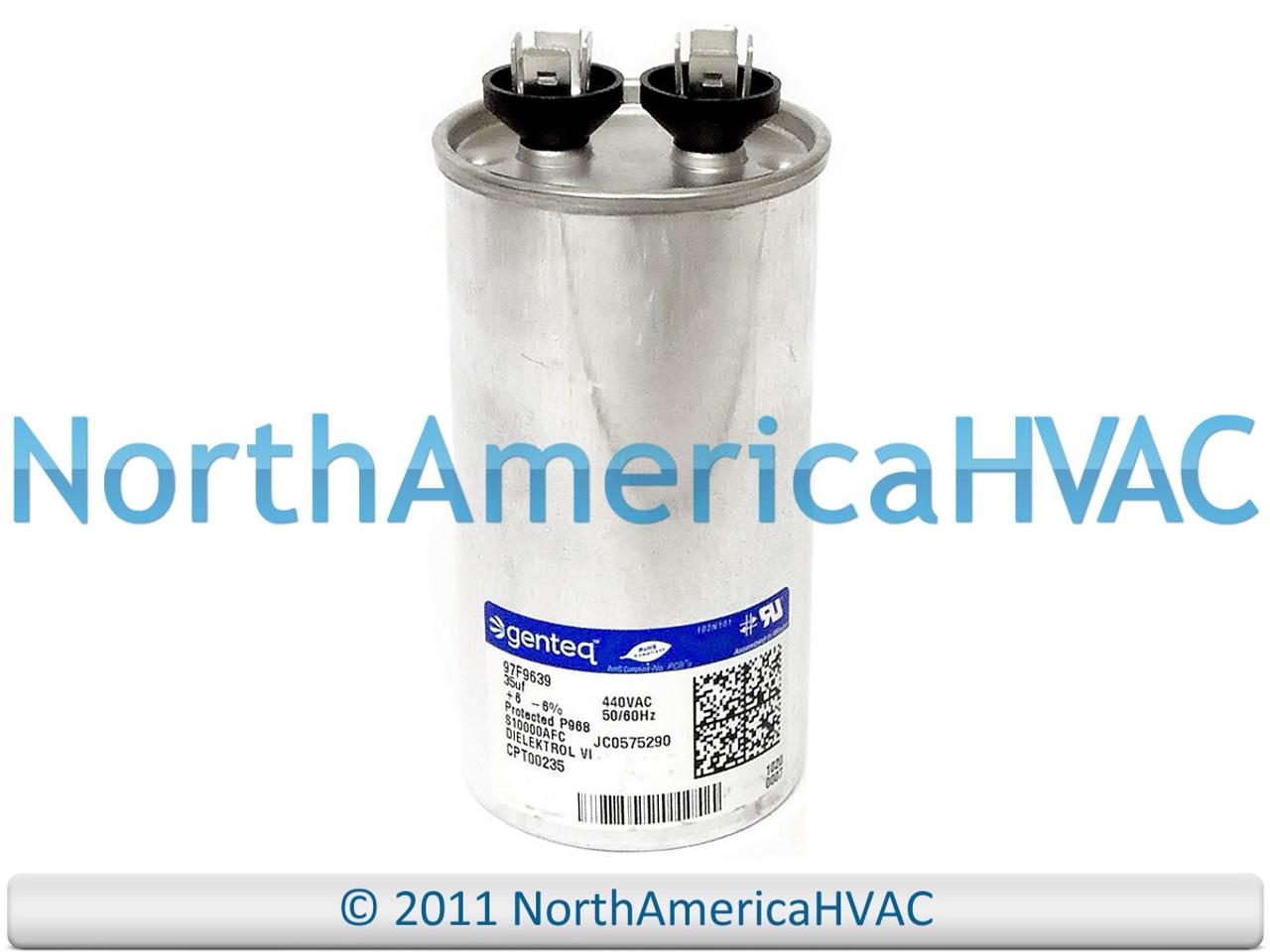 Trane Run Capacitor 35 uf MFD 440 volt CPT578 CPT00578