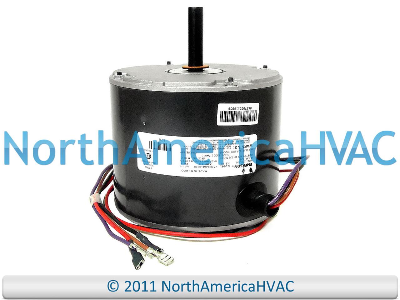 Trane Condenser FAN MOTOR 1//6 HP 200-230v D153876P01