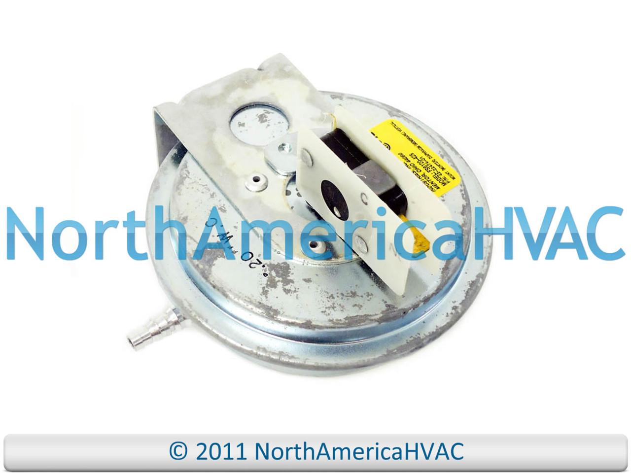 Rheem RUUD FS6119-493 Air Pressure Switch 42-22473-05
