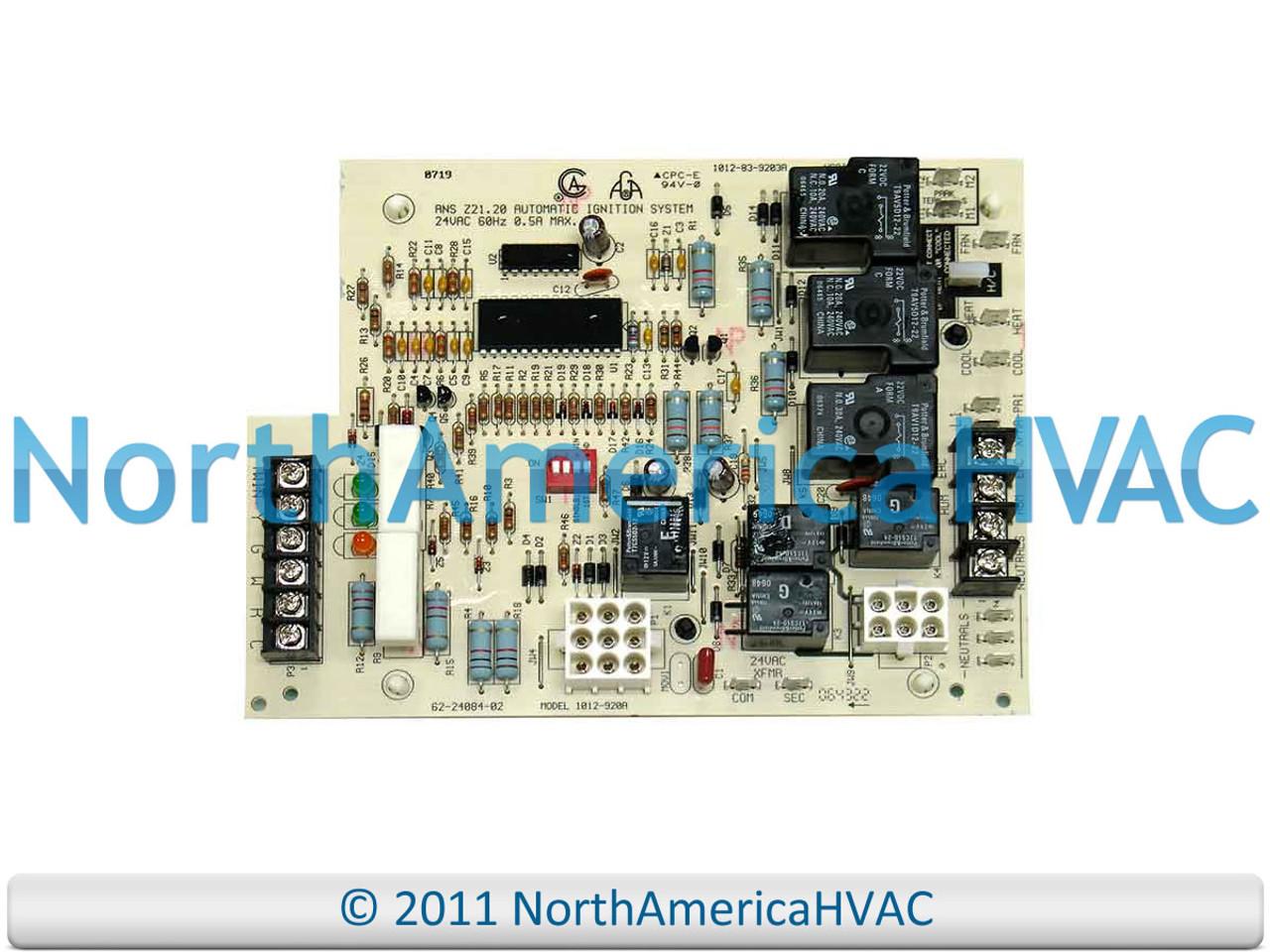 Protech Rheem Ruud Air Handler Blower Control Board Kit 47 Manual Guide