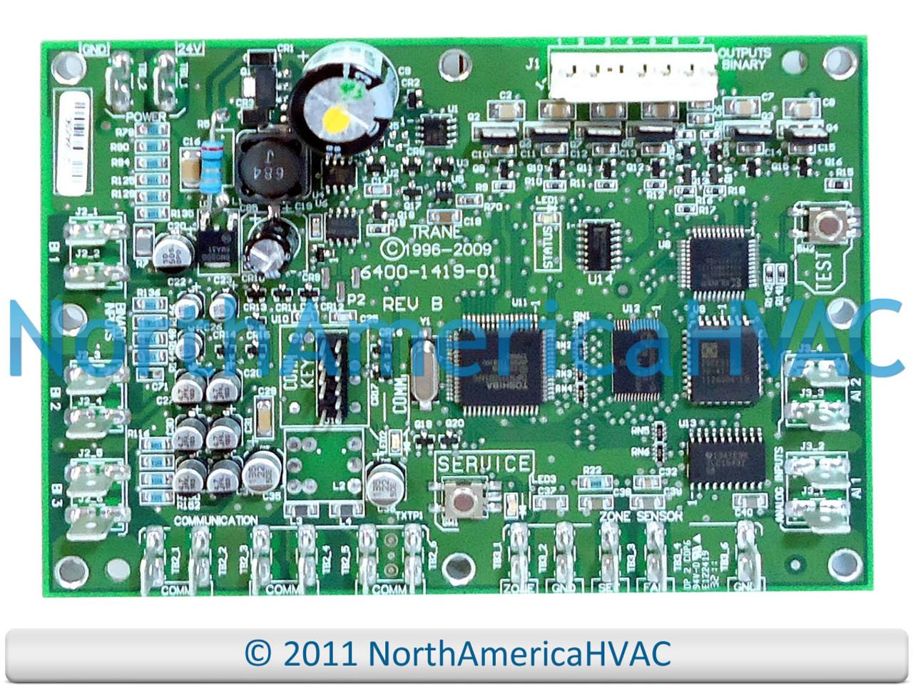 OEM Trane American Standard Control Circuit Board BRD5478 BRD05478