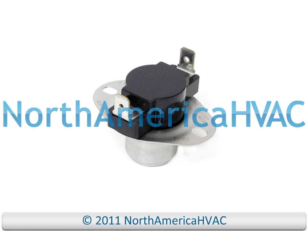 Coleman Evcon Furnace 110 F110-20F Disc Fan Switch 7956-335 7956-3351 7700-328