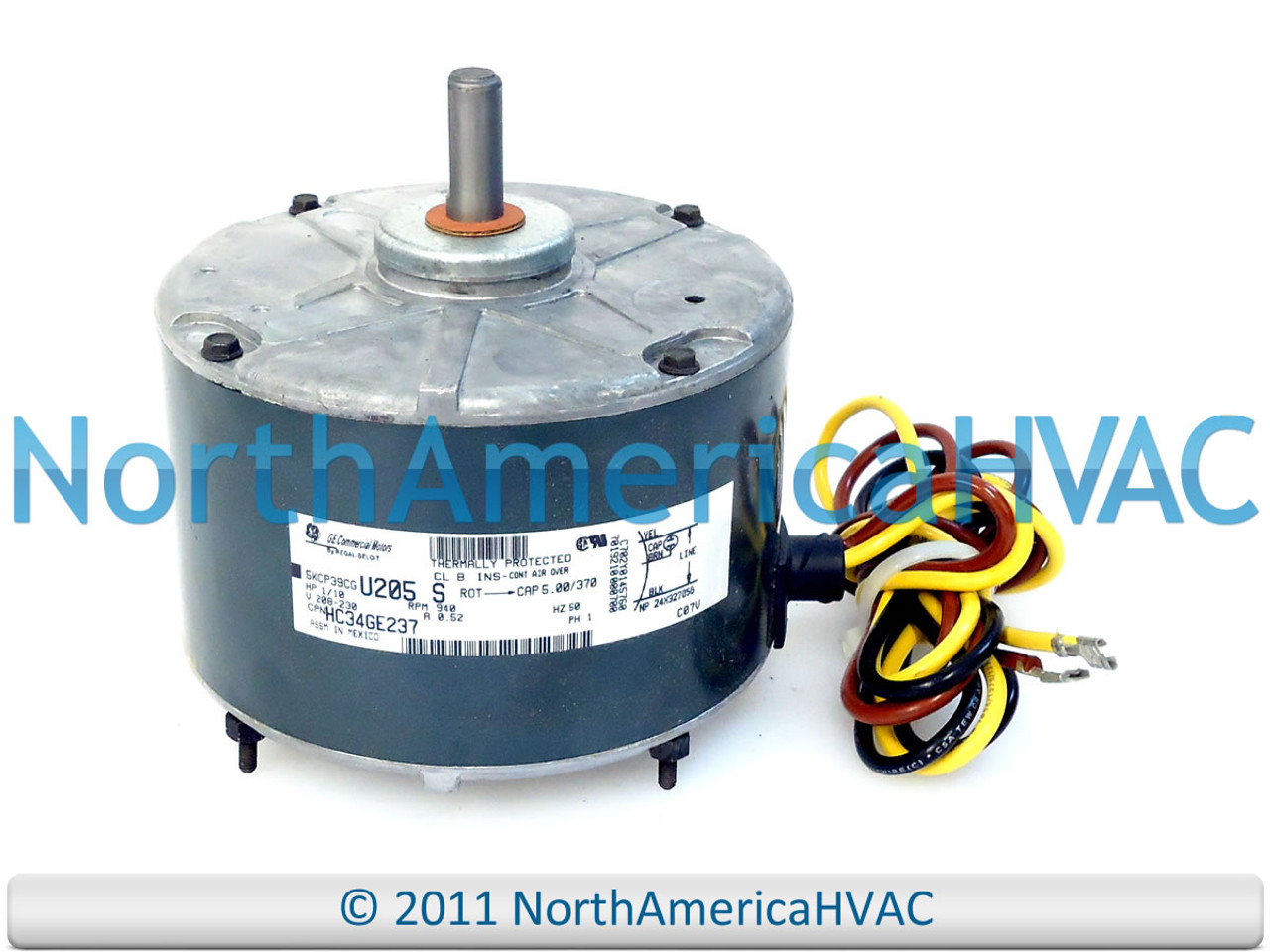 OEM Carrier Bryant Payne A//C Condenser FAN MOTOR 1//10 HP 208-230 Volt HC33GE230A