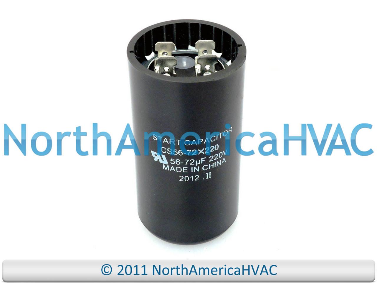 Motor Start Capacitor 56-72 MFD  330 VAC MARS 11060