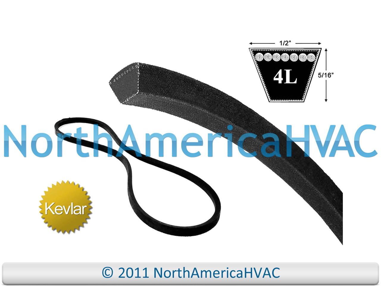 MTD or CUB CADET 754-3004 made with Kevlar Replacement Belt
