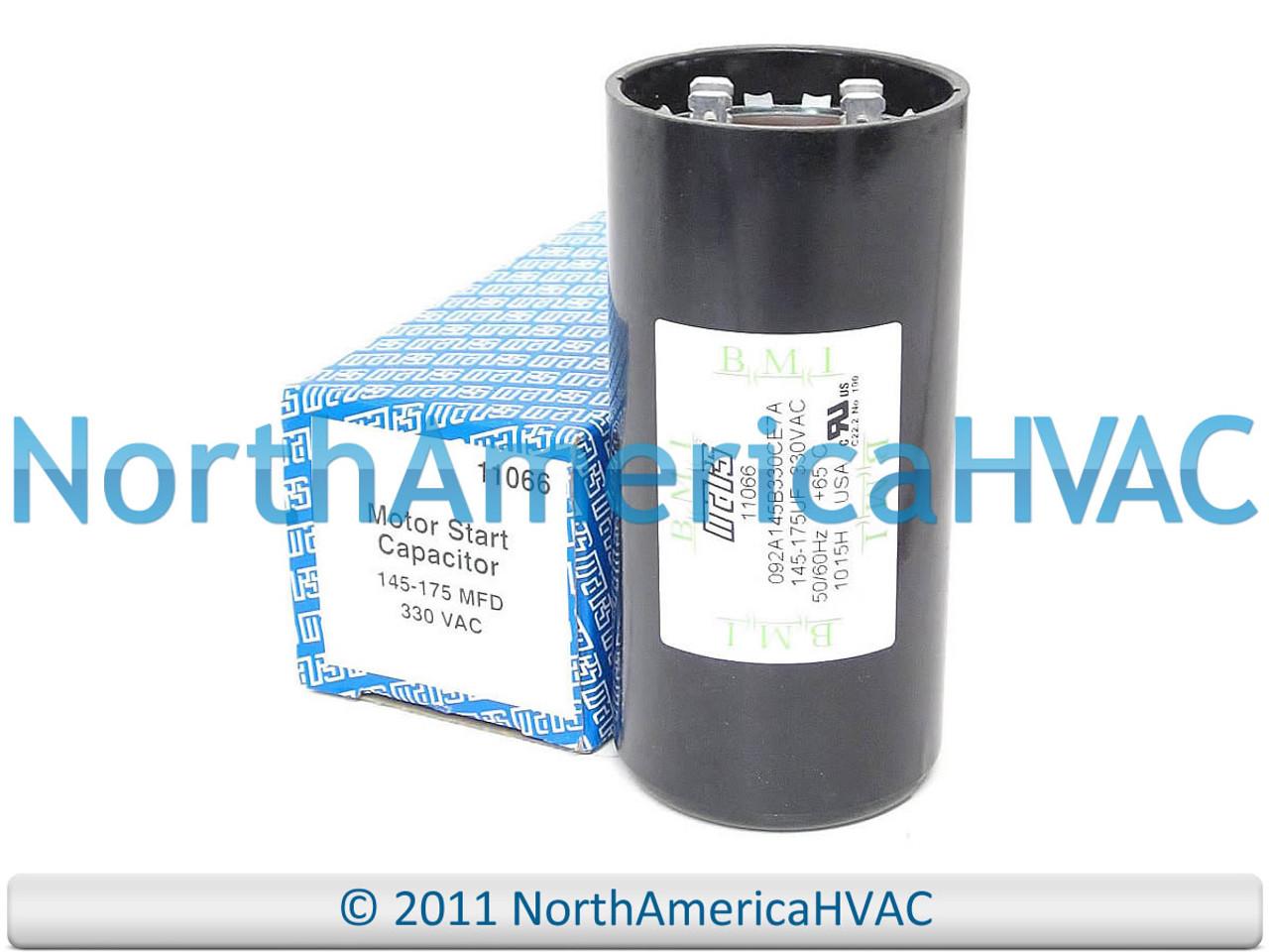 11966 145-174 MFD X 330 VAC Motor Start Capacitor JARD