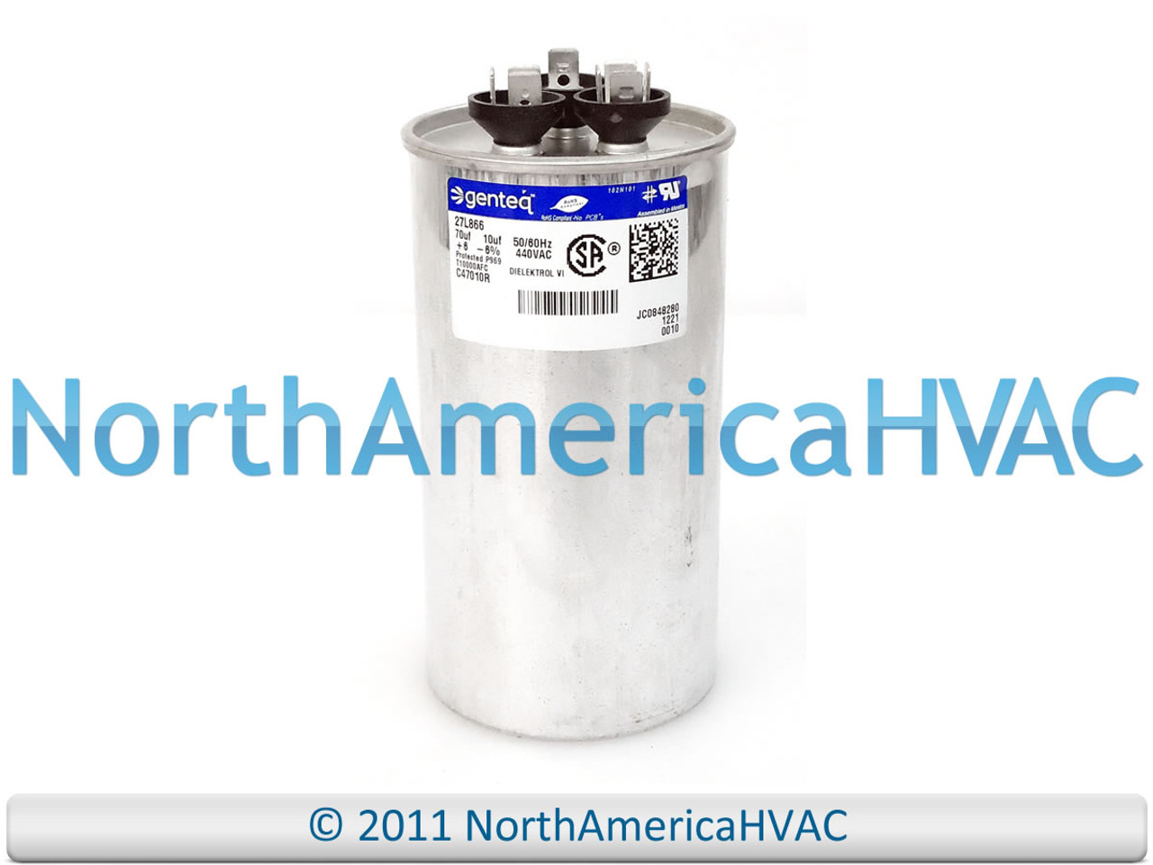 ClimaTek Round Capacitor fits Armstrong # 100335-03 R100335-03 30//5 uf MFD 370//440 Volt VAC