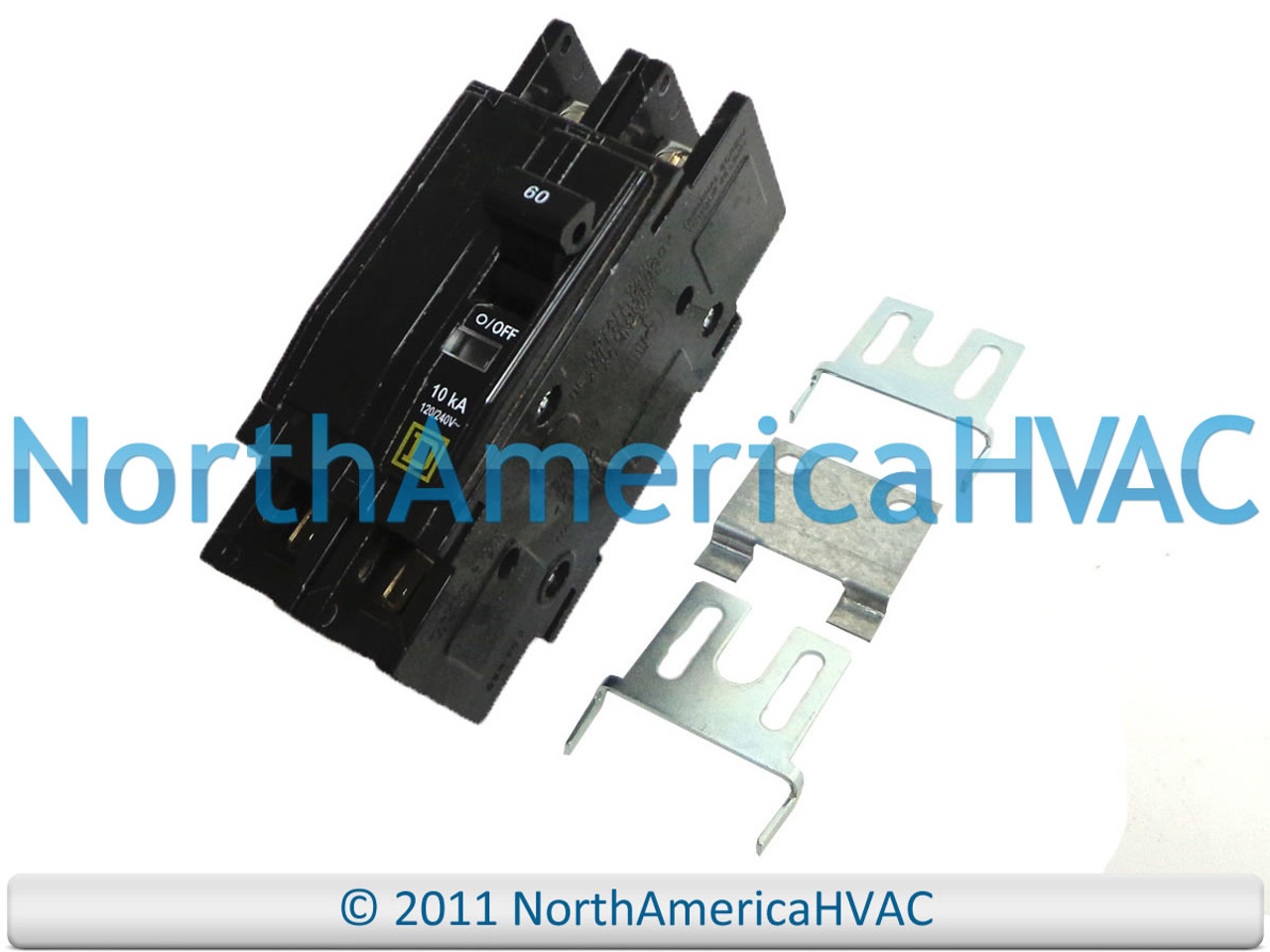 Intertherm Nordyne Miller 2 Pole 60 amp Breaker 632226