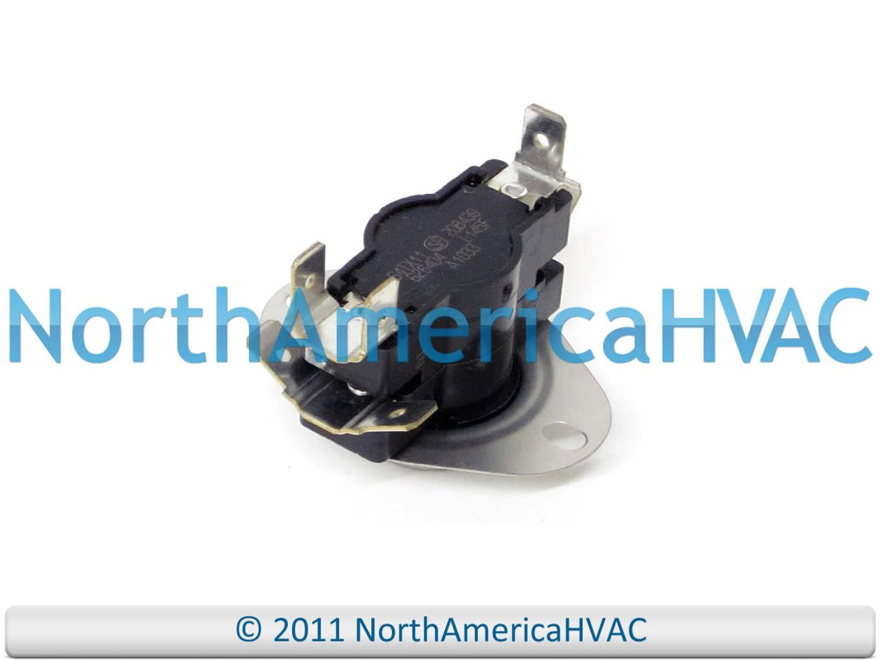 Intertherm Nordyne 2P Limit Switch L145F 208439 64TX11