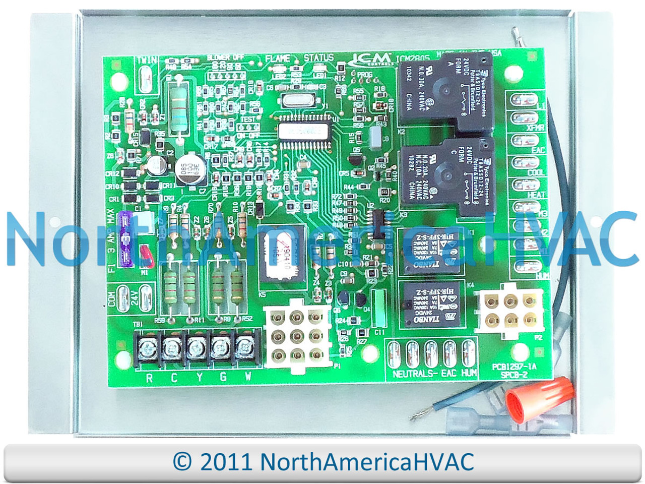 OEM Replacement for Frigidaire Furnace Control Circuit Board 624631-B