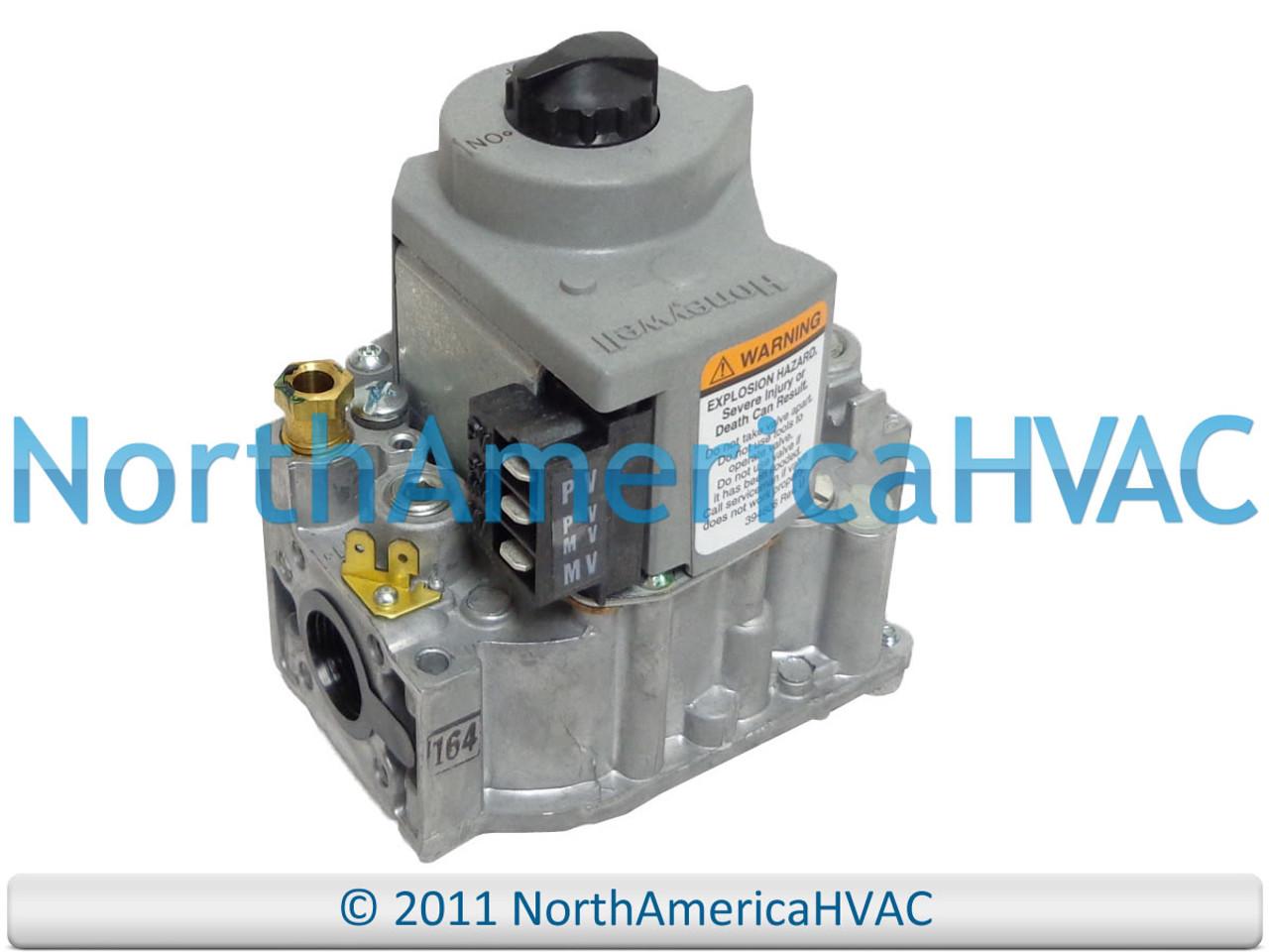 ICP Heil Tempstar Honeywell Furnace Gas Valve 1005597 VR8204M1075 NAT//LP GAS