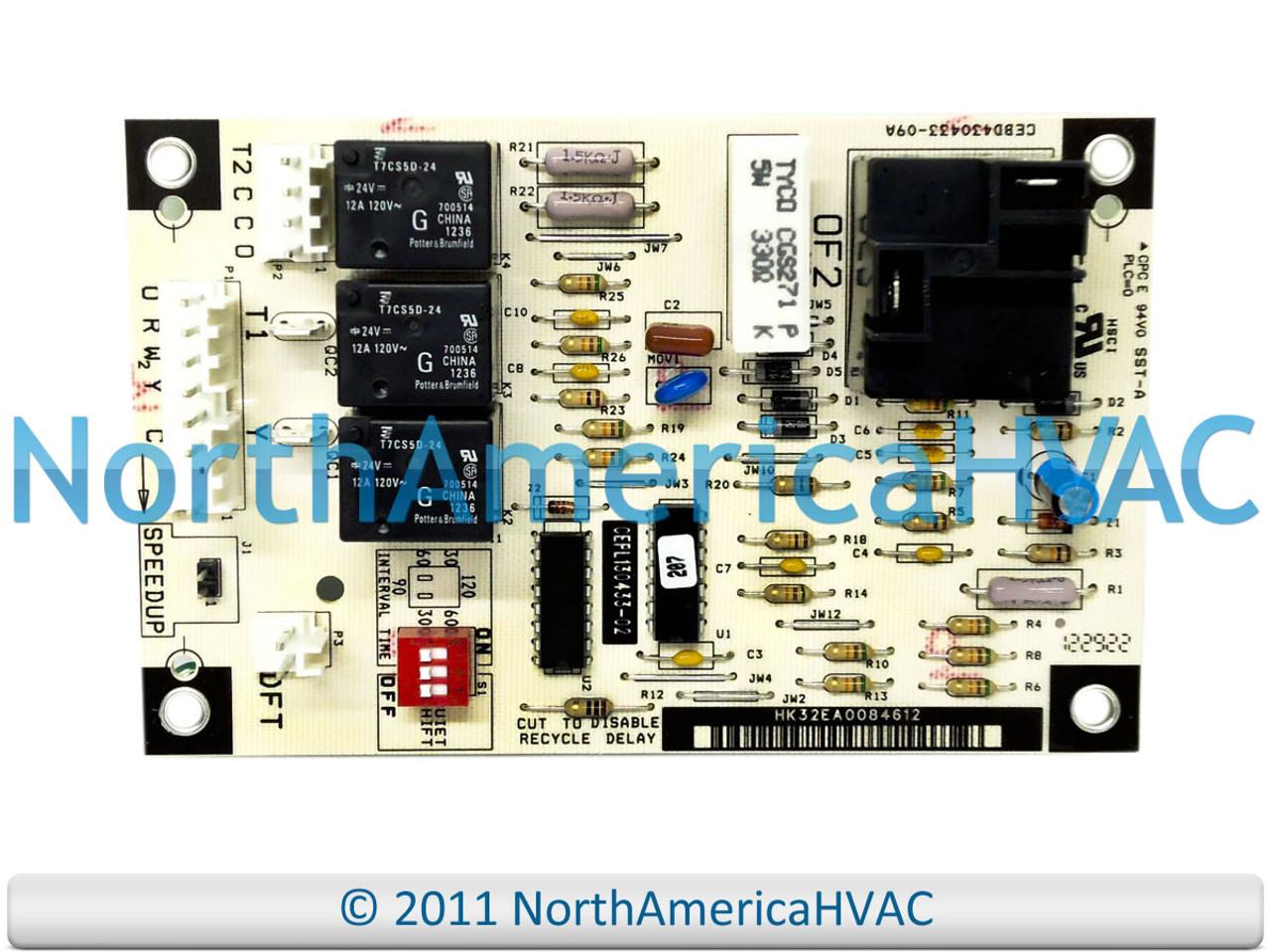 ICP Heil Tempstar Furnace Fan Control Circuit Board 1084197