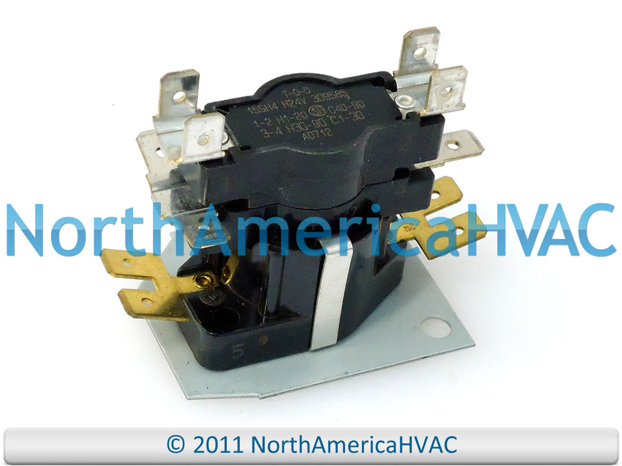 751292 ClimaTek 10//12 KW Furnace Heat Sequencer Relay Fits ICP