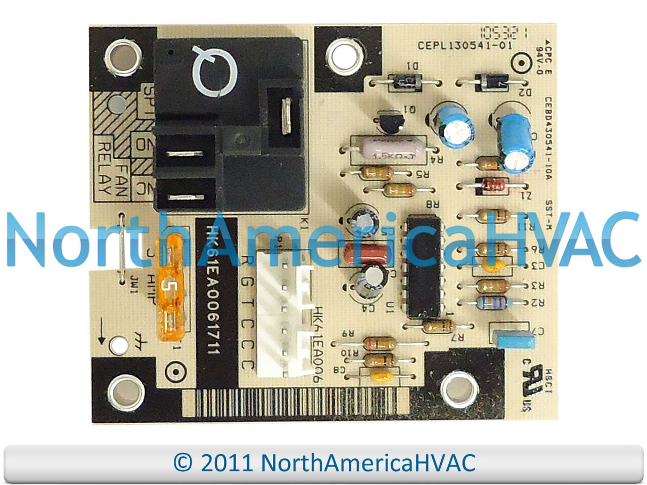 furnace fan relay wiring honeywell control board cepl130541 01 cebd430541 08a north  honeywell control board cepl130541 01