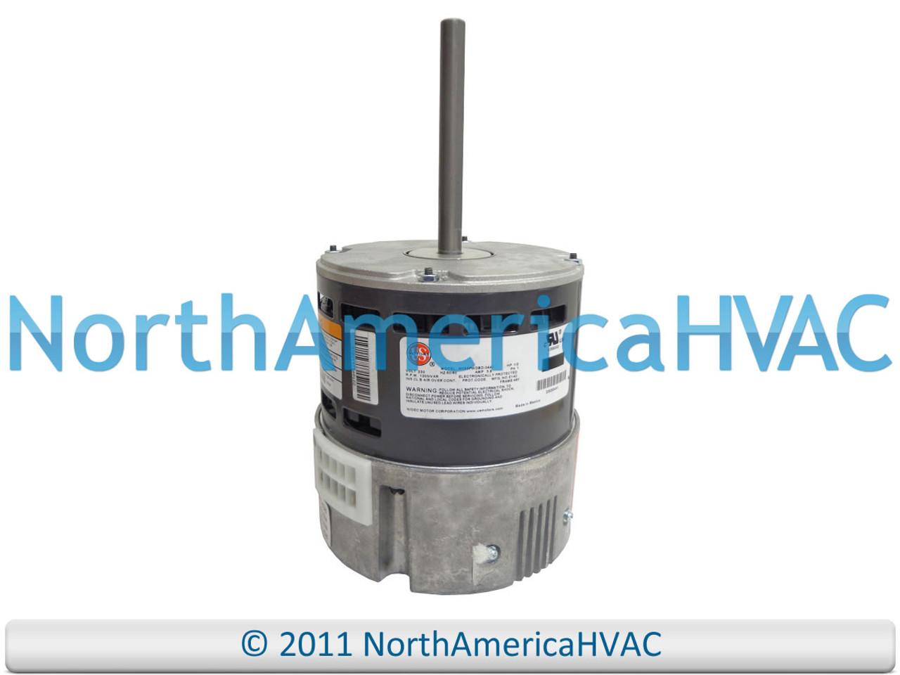 Bryant OEM Furnace Blower Motor 1//2 HP 230V HC43AE234
