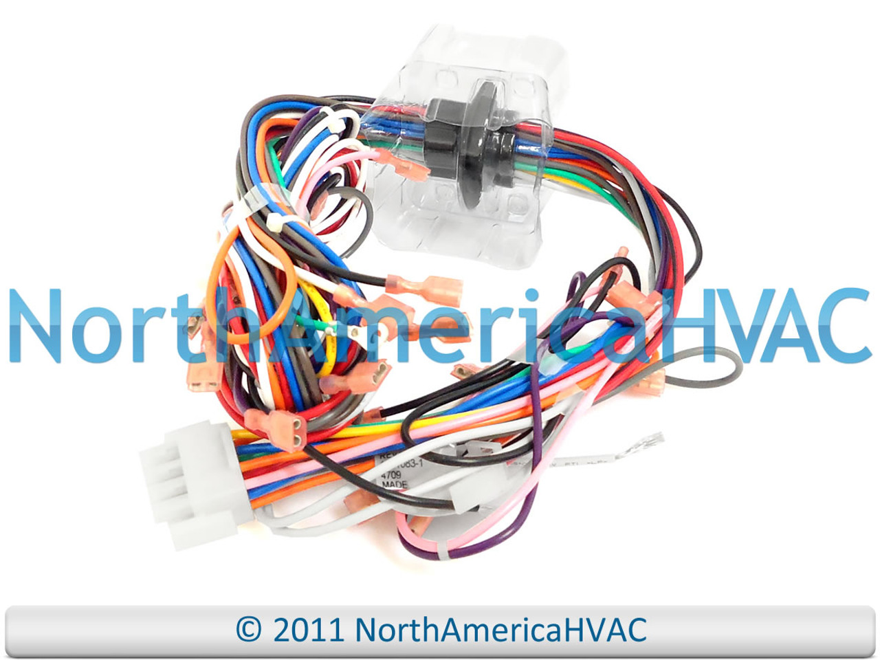 [TBQL_4184]  Goodman Amana Janitrol Furnace Wiring Harness Connectors & Plugs 0159F00003  - North America HVAC | Furnace Wiring Harness |  | North America HVAC