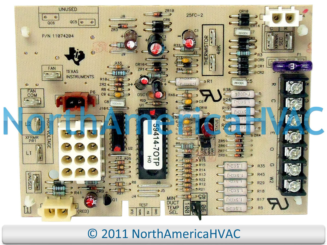 Amana Goodman 11074205 Control Circuit Board