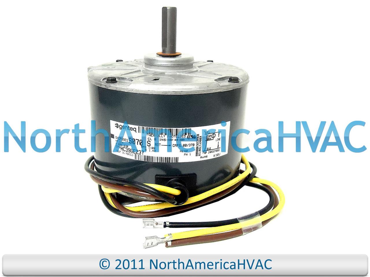 GE Genteq Condenser FAN MOTOR 1/4 HP 208-230v 5KCP39EGS070S - North America HVAC