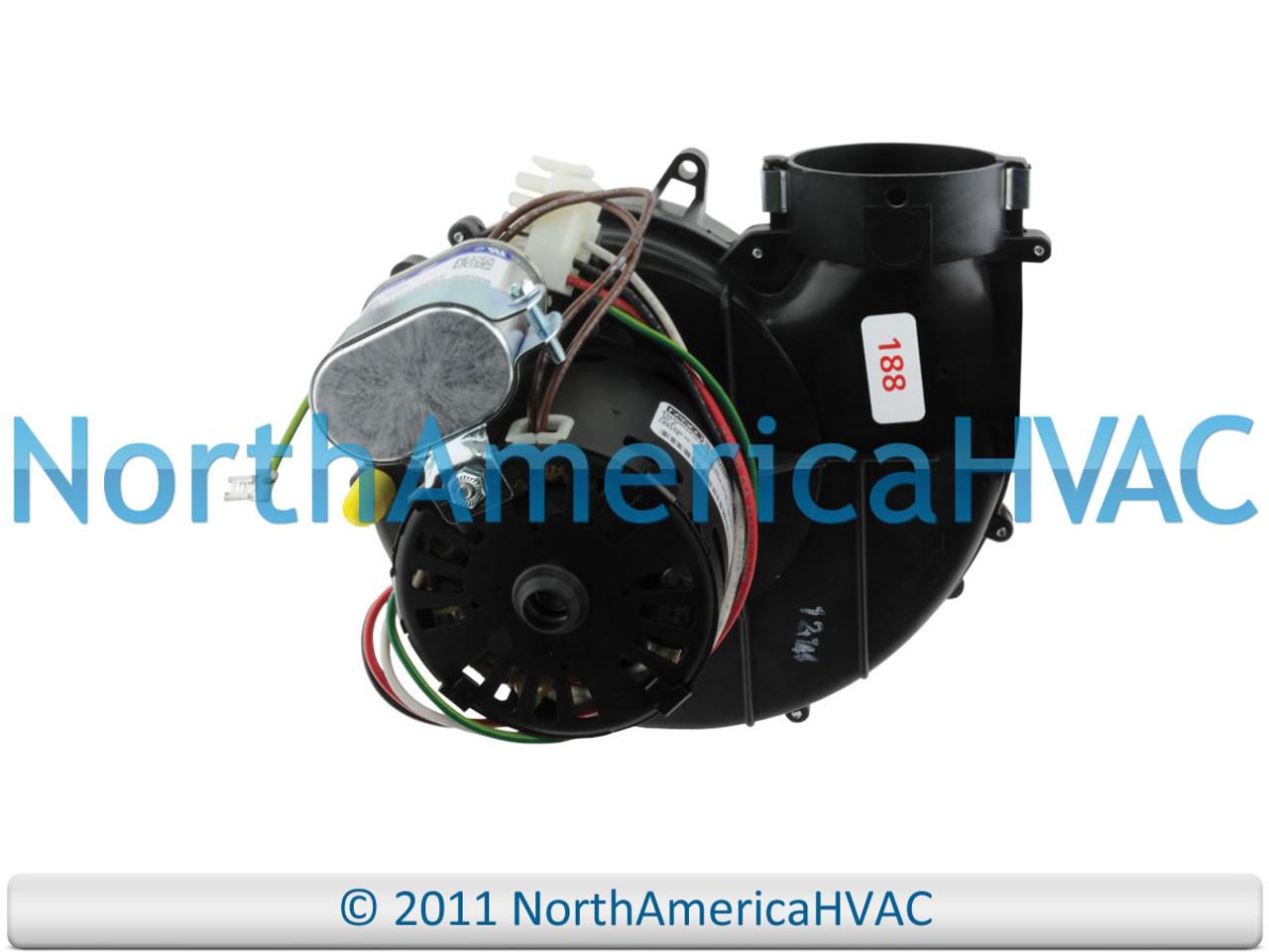 FASCO Rheem Ruud Furnace Inducer Motor 70626188 70626188JS Exhaust Weather King