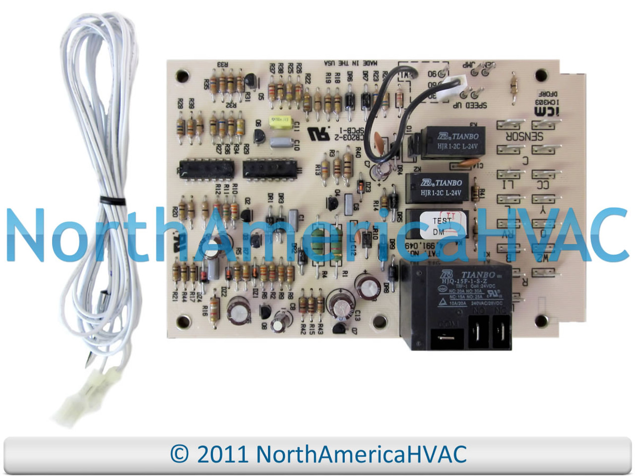 Coleman Defrost Control Circuit Board Panel 3030A374