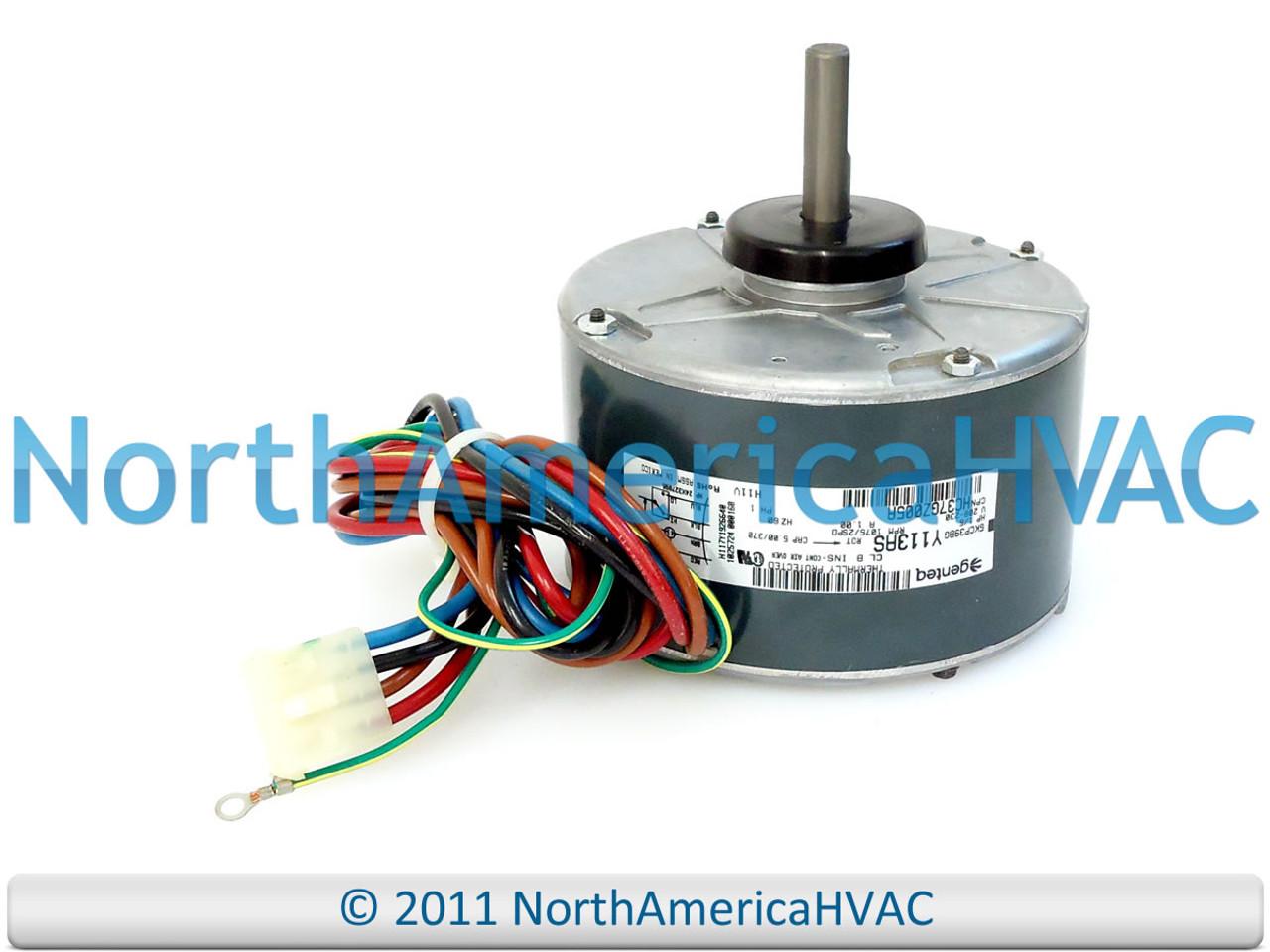 Emerson ICP Heil Tempstar 1//5 HP 230v A//C Condenser FAN MOTOR K55HXHRD-8822