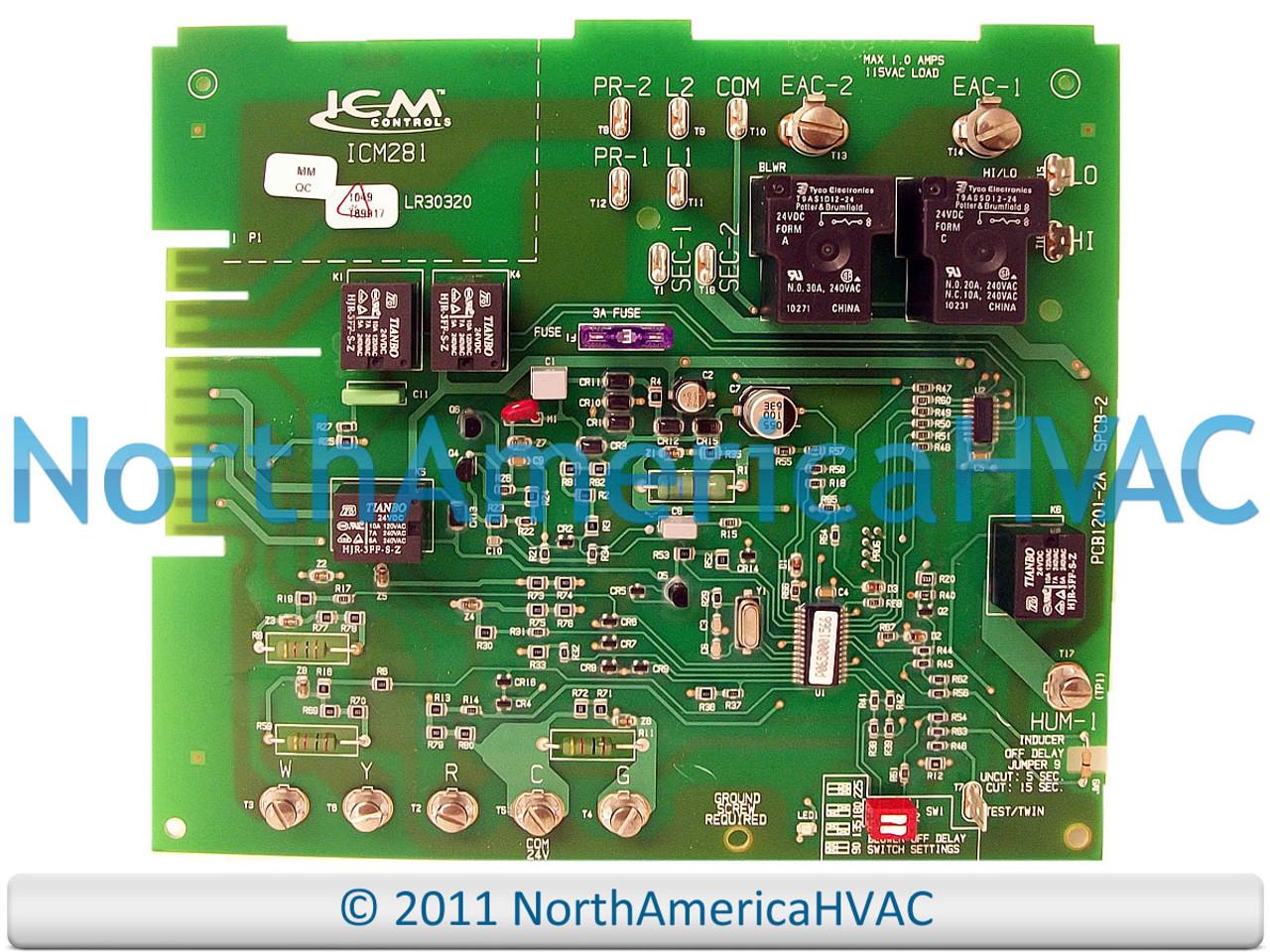 [SCHEMATICS_4US]  Carrier Bryant Payne Furnace Control Board HH84AA016 - North America HVAC | Bryant Defrost Circuit Board Wiring Diagram |  | North America HVAC
